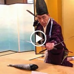 Shiki-bocho, very traditional Japanese food ceremony