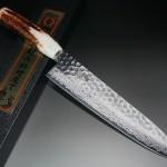 Antler Handle version of Damascus Knives by Sakai Takayuki