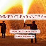 SUMMER CLEARANCE SALE (while supplies last)