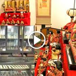 Doll's Festival and Hocho at historical forging factory in Sakai, JAPAN