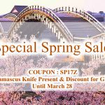 Special Spring Sale 2017 specially extended until March 28