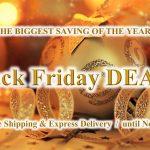 Black Friday DEALS on Nov.22~24