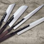 Premier Honyaki Water Quench Aogami Steel Knives by Sakai Takayuki newly in stock (Limited)
