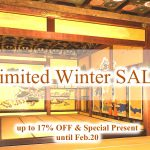 Limited Winter SALE