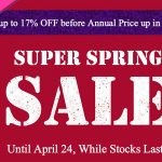 SPECIAL SPRING SALE for Mother's Day