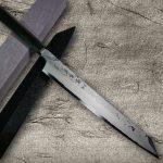 SEIRYU Sword-like Damascus Blue Paper Steel Knives