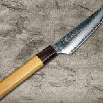 Newly Released! Sakai Takayuki 33 Layered Damascus Steak Petty Knives with Beautiful Japanese Style Handle