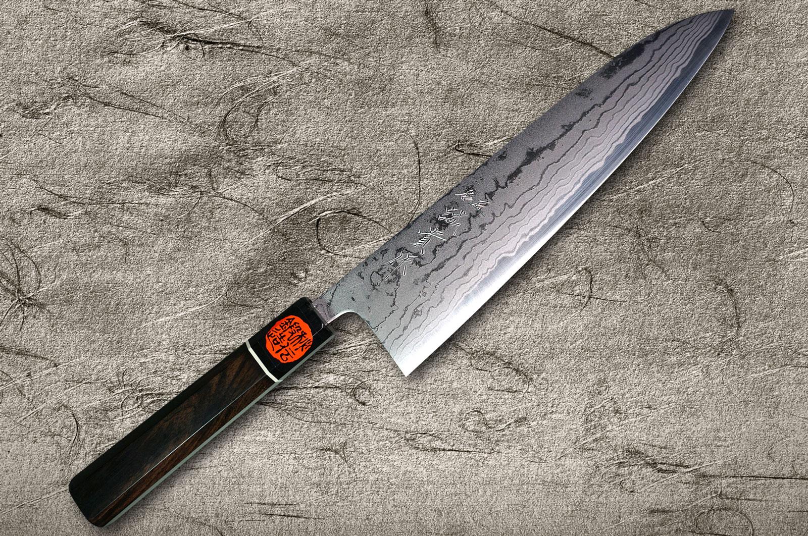 Phenomenal Shigeki Tanaka Aogami Blue No 2 Damascus Chef Knives With Download Free Architecture Designs Scobabritishbridgeorg