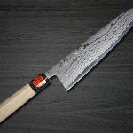 New faces of Razor-sharp Shigeki Tanaka Aogami Blue No.2 Damascus Knife Series
