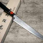 Sought-after item — Shigeki Tanaka HABAKIRI SG2 Damascus Slicer