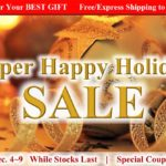 Super Happy Holiday SALE | Save up to 30%OFF + Free/Express Shipping to arrive in time