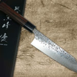 Yu Kurosaki Stylish R2 Hammered SHIZUKU Chef Knives with High-Class Durable Rosewood Handle