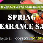 SPRING CLEARANCE SALE   25%OFF &  FREE Upgraded Express Shipping