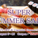 SUPER SUMMER SALE   25%OFF &  FREE Upgraded Express Shipping