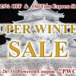SUPER WINTER SALE | 25%OFF – Powered Coupon – Express Shipping