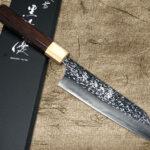 YU KUROSAKI SHIZUKU Razor-Sharp R2 Chef's Knives with White-Ring Rosewood Handle