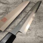 Yoshihiro Suminagashi – Beautiful Damascus Blue-Paper Sushi Knives