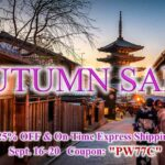 AUTUMN SALE | 25%OFF & On-Time Express Shipping